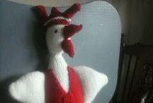 Breien / As je een patroon wilt hebben, neem dan contact met me op: gietje56@gmail.com Ik wil ze ook voor je breien.