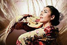 bailaoras y bailaores de flamenco