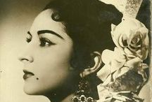 Flamenco de color sepia...