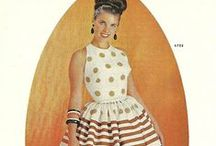 Early 60's Fashion Plates
