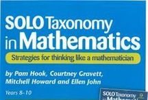 SOLO Taxonomy in Maths / Using SOLO Taxonomy to make learning visible  http://pamhook.com/