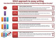SOLO Taxonomy in English / Using SOLO Taxonomy to make learning visible http://pamhook.com/