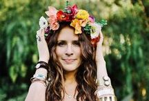 ⋘☾⋙ MOON IN FLORA ⋘☾⋙ / The Moon Collection flower crowns brought to you by Moon in Flora www.mooninflora.com