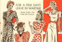 1940s Fashion Plates