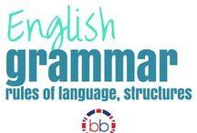 English Grammar / English grammar info images to pin.