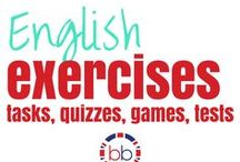 English Excercises - Phrasal verbs, Grammar / Subscribe to our YouTube channel for your free weekly Vocabulary and Grammar videos  YouTube - BubbleBee TV