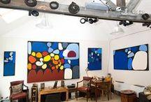 Art Aborigene - exposition Kaleidoscope millénaire - Ikuntji / Art Aborigène d'Australie. Peintures d'Art Aborigène. Aboriginal art. Ikuntji art community. Galerie d'art.