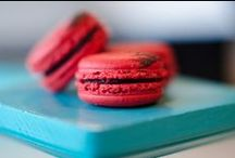 Macarons / Our playful macaron flavors created for the monthly menu and for weddings and events.