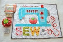 Small Sewing Projects / It might take a while to make but it won't take up the whole house when it's finished.