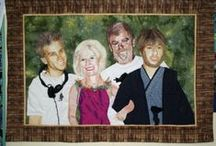My Quilts & Creations / Here's some of my own art quilts and other quilts that I've produced.