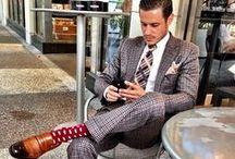 Dapper men / Menswear style inspiration || #menswear #mensfashion #mensstyle #style #sprezzatura #sprezza #mentrend #menwithstyle #gentlemen #bespoke #mnswr #sartorial #mens #dapper #man #dapperman