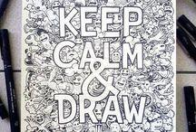 Ideas para dibujar / Ideas para mis propios dibujos