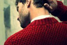 Men in red / Menswear style inspiration || #menswear #mensfashion #mensstyle #style #sprezzatura #sprezza #mentrend #menwithstyle #gentlemen #bespoke #mnswr #sartorial #mens #red