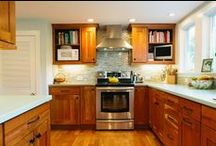 Kitchens / Kitchen countertops, backsplashes, floors, & accents. Designed and installed by Northeast.