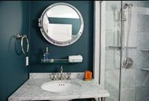 Bathrooms / Custom tile designs, shower stalls, natural stone vanities, artisan sinks, & much more for your bathroom!