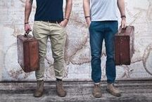 Men's Travelling / Menswear style inspiration || #menswear #mensfashion #mensstyle #style #sprezzatura #sprezza #mentrend #menwithstyle #gentlemen #bespoke #mnswr #sartorial #tagsforlikes #mens #bag #bags #travel #travelling #suitcase #case #travellingbag #bag #valise #gripsack