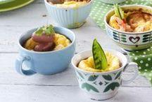 Suolaisia herkkuja / Maistuvia välipaloja, kevyitä aterioita ja herkullisia tarjottavia vieraille. Tasty snacks and light meals.