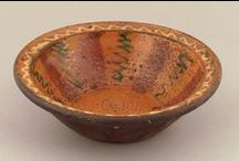 Redware / Redware pieces that have sold through Pook & Pook, Inc.
