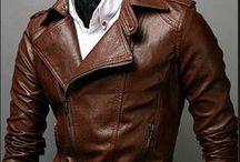 Men's Leather / Men's Fashion Menswear style inspiration || #menswear #mensfashion #mensstyle #style #sprezzatura #sprezza #mentrend #menwithstyle #gentlemen #bespoke #mnswr #sartorial #tagsforlikes #mens #leather