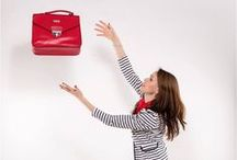 LADYBAG Red Carpet: Heated Bags / The only handbag which charges your electronics and keeps you warm year round. www.ladybag.cz