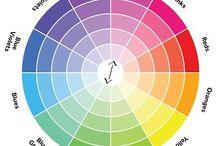 Color Theory / Teoría del color / Farben Theorie / Théorie de coleur