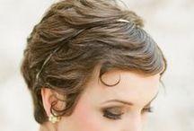 Účesy - krátké vlasy