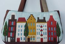 Quilts - Bags / There are bags of ideas here on how to create your own