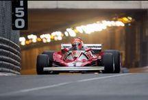 Niki Lauda y Ayrton Senna