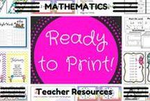 RTP 'Mathematics' resources