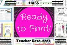 "RTP ""HASS"" teaching resources"