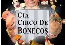 Cia Circo de Bonecos / Divertir, ensinar e difundir a Arte do Teatro de de Animação é o ofício da Cia Circo de Bonecos.  www.circodebonecos.com.br