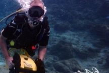 DPV dives / diving with the Diver Propulsion vehicle