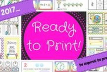 "Back to school with ""Ready to Print"""