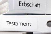 Erbschaft & Erbberatung / Informationen und Artikel zum Thema Testamente, Erben und Schenken.