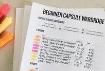 Checklist wardrobe