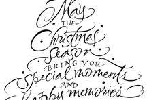 Christmas - Wishes / Deseos / Wünsche / Désirs