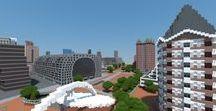 Rotterdam in Minecraft / Rotterdam, Minecraft, rotterdam-minecraft.nl