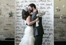 Wedding Inspiration / Ideas that inspire us or educate our couples!