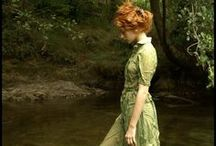 ♥ Chlorophyll / Time held me green and dying, though I sang in my chains like the sea. green.