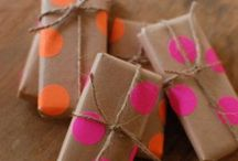 Stationary and gift wrapping