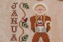 Cross stitch   ! mes broderies ! meus bordados