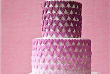 Cakes - purple