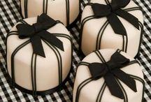 Cakes - black & white