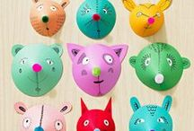 Kids Crafts / Get inspired with these super fun - and mostly easy - kids crafts!