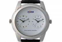 DUAL TIME WATCH / KOREA WORLD TIME WATCH
