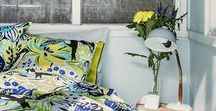 Spring/Summer 2017 / Spring is the best of seasons. That is why it deserves a new, fresh collection. Browse our new designs such as the Ancestors by artist Hannu Väisänen, blooming flowers and snapshots of city scenes in the new Kylillä pattern. Bring Spring home with your favorite duvet covers, pillows, towels and kitchen textiles.