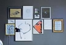 gallery walls / by Bryan Hunt
