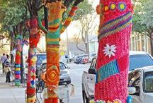 ART yarn bomb / by Kristine Cheeseman