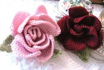 Crochet flowers / Just because..