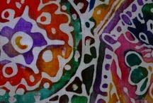 Batik and dyes